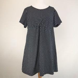 Ellos Shift Tunic Dress Polka dot Size 14/16